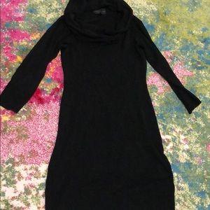 Cowl neck sweater dress size large